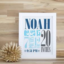 Custom Birth Wall Art The Perfect Way To Customize The Baby S Room