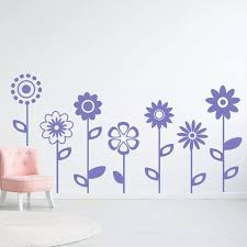 Makeyes Flower Decals Girls Bedroom Wall Sticker Flowers Beauty Cute Wall Decor Vinyl Art Home Rooms Sweet Decoration Rose Q220 Wall Stickers Aliexpress