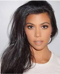 kourtney kardashian makeup natural