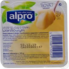 alpro blueberries soya yogurt 150g