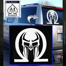 Spartan Omega Helmet Decal Sticker A1 Decals