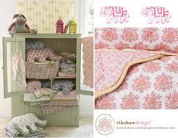 rikshaw design nursery bedding for the