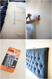 tufted headboard how to make it own