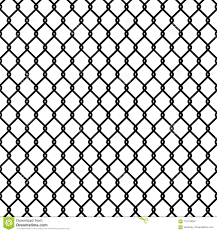Seamless Chain Link Fence Pattern Texture Wallpaper Stock Vector Illustration Of Linked Decoration 115178097