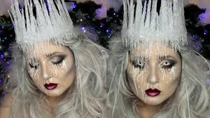 ice queen makeup tutorial diy ice