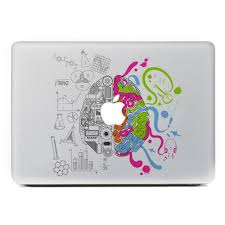 2020 Left And Right Scientific Brain Vinyl Decal For Apple Macbook Pro 13 15 Inch And Air 11 13 Inch Decal Skin Laptop Sticker From Yache 7 03 Dhgate Com