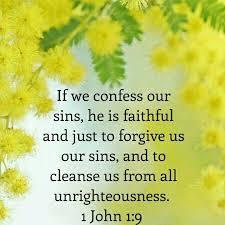 Image result for 1 John 1:9