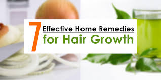 home remes for boosting hair growth