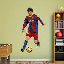 Fathead Fc Barcelona Lionel Messi Wall Decal Walmart Com Walmart Com