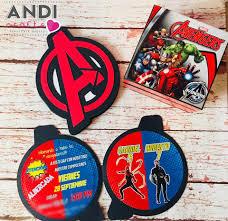 Andi Crafts Invitaciones Avengers Nunca Pasa De Moda Facebook
