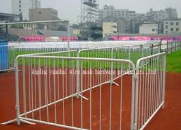 Steel Tube Temporary Construction Fencing Hire Mobile Safety Fence Panels