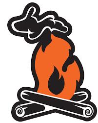 Michigan Campfire Sticker