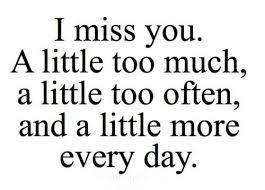 """cara lain untuk bilang """"i miss you"""""""