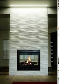 wavy fireplace tiled fireplace wall