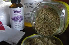 recipe for oatmeal almond scrub