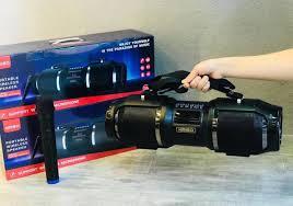 Loa bluetooth karaoke KIMISO T1S kèm 1 micro không dây siêu hay ...