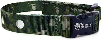 Amazon Com Extreme Dog Fence Dog Collar Replacement Strap Camo Compatible With Nearly All Brands And Models Of Underground Dog Fences Pet Supplies