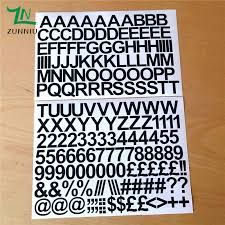 T07066 Eco Friendly 2cm Self Adhesive Vinyl Sticker Letters And Numbers Children S Indoor Decorative Stickers Decal Home Decor Sticker Letters Home Decordecorative Stickers Aliexpress