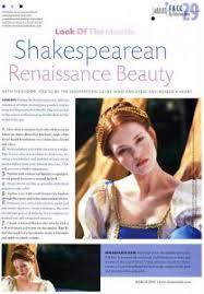 era makeup renaissance shakespeare