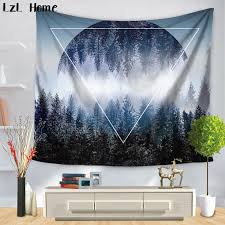 original forest scenery tapestry