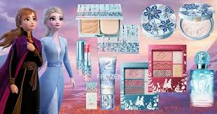 skincare and makeup collabs with frozen