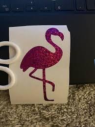 Flamingo Holographic Decal Sticker Car Window Wall Bumper Boat Cooler 3 00 Picclick