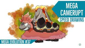 Mega Camerupt - Pokemon Mega Evolution #37