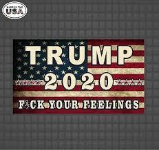 Trump 2020 American Flag Decal Stickers Car Truck Window Sticker Yeti Cup Decals Ebay