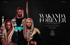 Wakanda Forever by Creative Director & Hairdresser DIONNE SMITH ...