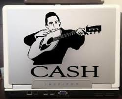 Johnny Cash Silhouette Car Truck Laptop Window Decal Sticker 6 Inches Black Ebay