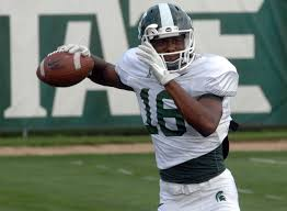 Aaron Burbridge back practicing for Michigan State, will get ...