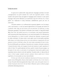 Lo Slang Americano: un'analisi lessicografica - Tesi di Laurea ...