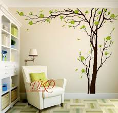 Cherry Blossom Tree Wall Decals Wall Sticker Living Room Wall Etsy