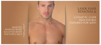 more men having laser hair removal