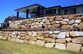 Australian Rock Walls - Gold Coast | Boulder Sandstone