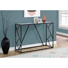 42 inch modern console table