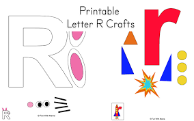 letter r worksheets and printable