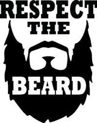 4 5 Inch Respect The Beard Decal Window Sticker Car Decor Men Man Beardiful Love Ebay