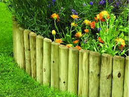 Garden Edging Logrolls Garden Decor Wickes Co Uk