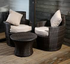 synthetic rattan garden furniture