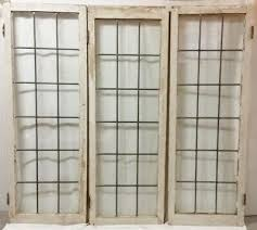 leaded glass windows 56 5 inches tall