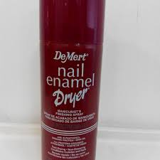 demert nail enamel dryer 指甲油快乾喷剂