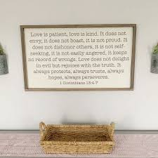 Love Is Patient Classic Wall Quotes Decal Wallquotes Com