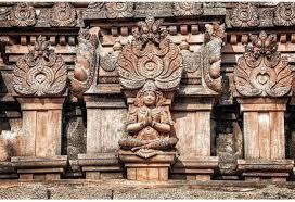 AnanyaDesigns Wall Poster Ancient Hindu Temple Statues In Hampi ...