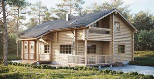 log prefabricated houses directly