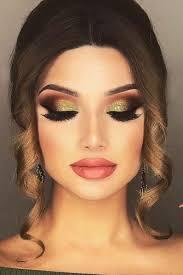 20 amazing glitter eyelids makeup ideas