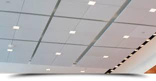 acoustical ceiling tile installation