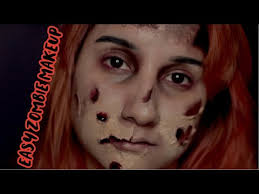 zombie makeup tutorial easy beauty