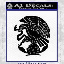 Mexico City Emblem Coat Of Arms Decal Sticker Eagle A1 Decals