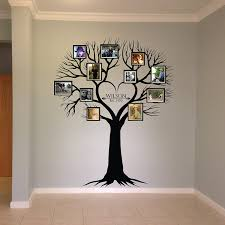Amazon Com Wall Decal Family Tree Wall Decal Photo Frame Tree Decal Family Tree Wall Sticker Living Room Wall Decals Wall Graphic Handmade